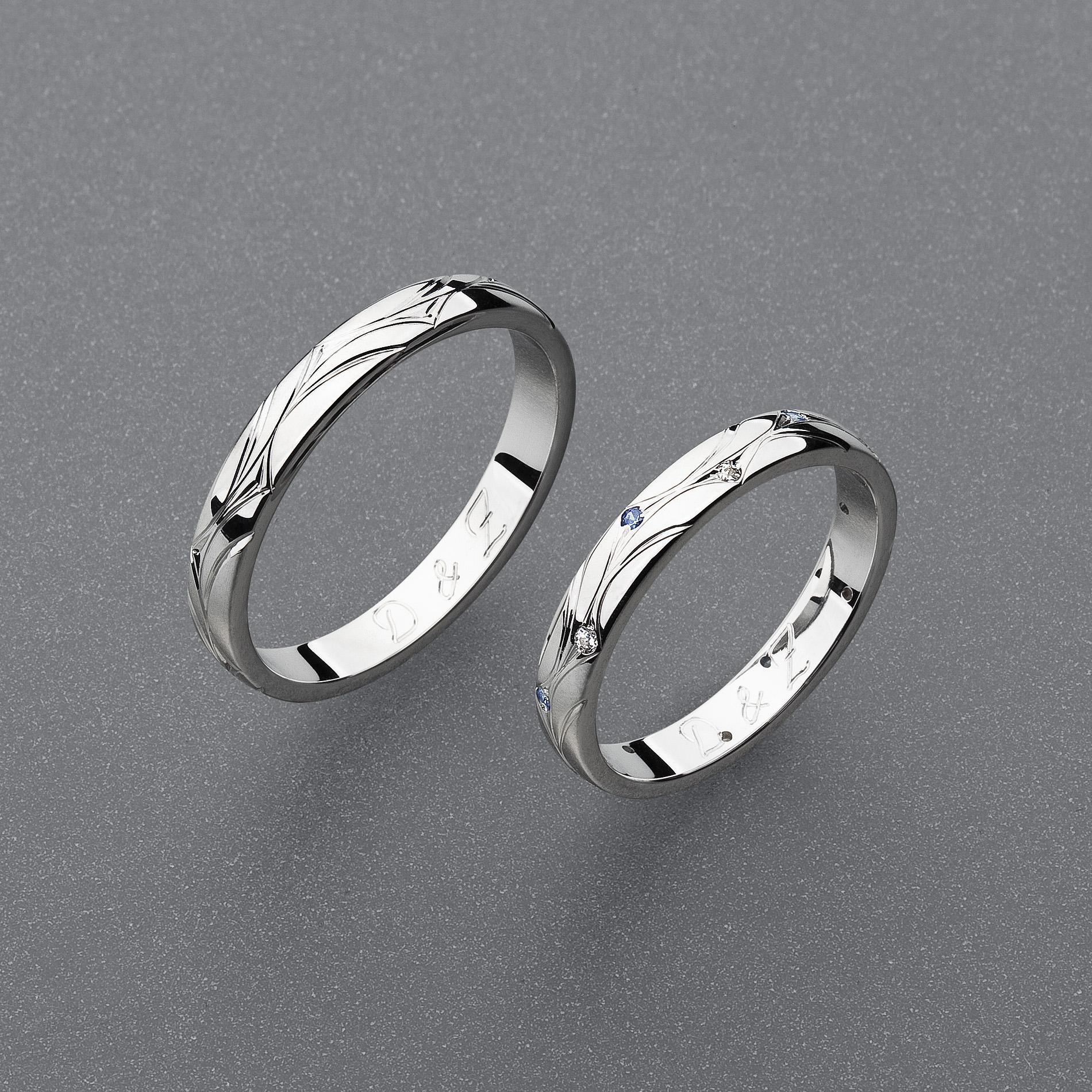 Stribrne Snubni Prsteny Vzor Z82