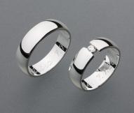 stříbrné snubní prsteny vzor Z33