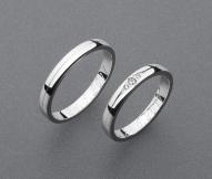 stříbrné snubní prsteny vzor Z68