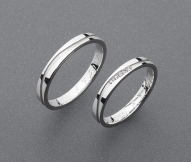 stříbrné snubní prsteny vzor Z70