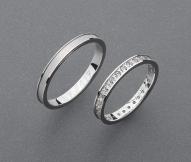 stříbrné snubní prsteny vzor Z71