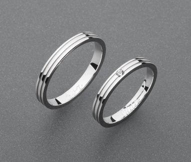 stříbrné snubní prsteny vzor Z72