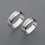 stříbrné snubní prsteny vzor Z77