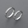 stříbrné snubní prsteny vzor Z92