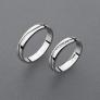 stříbrné snubní prsteny vzor Z93